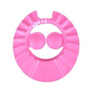 ngzhongtu Baby Shampoo Caps Children'S Shampoo Caps Children'S Elasticity Shower Caps Baby Shower Caps Adjustable-Pink