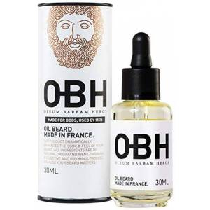 OBH Nordica The Best All Natural Premium Beard Oil Conditioner for Men by OBH Heroic Beard Growth and Grooming from Nature Best Selling and Best Smelling Made in France with Naturally Sourced Ingredients