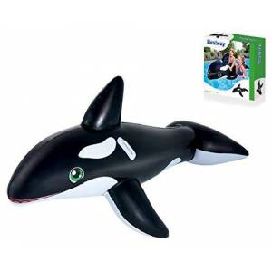 Best Way Orca Large Cm. 203X102 Inflatable-Riding, Multicoloured, 6942138940046