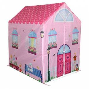 Charles Bentley Children's Playhouse/Wendyhouse Play Tent Pink
