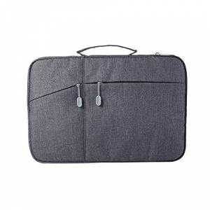 Laptop/Tablet Case Sleeve Bag 11-12-12.3-13-13.3-13.5-15 for MacBook Air/Pro Surface Pro X/7/6/5/4/3-Black_12_to_12.9