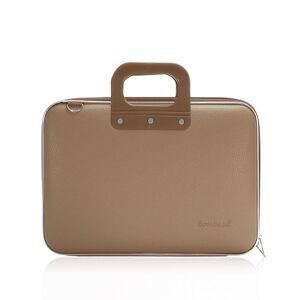 Bombata Classic Briefcase, 38 cm, 15 Liters, Tan