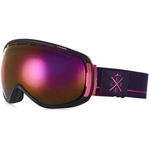 Bolle Brands Ltd. Cb Unisex's Feel'in Goggles, Matt Black Purple Pink, Large