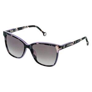 Carolina Herrera Women's She7925409qa Sunglasses, Havana+Pink, 54/18/135