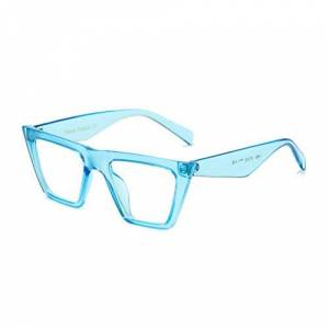 WOJUEF Unisex Cat Eye Sunglasses Women Fashion Shades Ladies Vintage Black Sun Glass Men Gradients