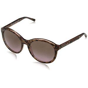 Michael Kors Women's MAE 325114 54 Sunglasses, Pink Tort Graphic/Brownrosegradient