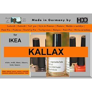 HDO Coloured Pencils Paint Pen Touch Up Pen For Ikea Kallax White