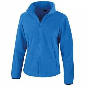 Result Womens/Ladies Core Fashion Fit Fleece Top (2XL) (Electric Blue)