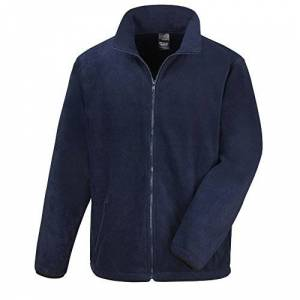 Result Mens Core Fashion Fit Outdoor Fleece Jacket (2XL) (Navy Blue)