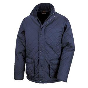 Result Mens Urban Cheltenham Water Repellent Jacket (3XL) (Navy Blue)