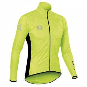 Optimum Men's Nitebrite Rain Jacket - Green, X-Large
