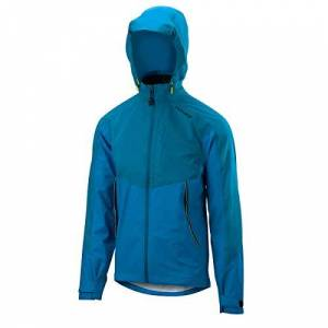 Altura Men's Nightvision Thunderstorm Jacket, Teal/Teal Reflective, Small