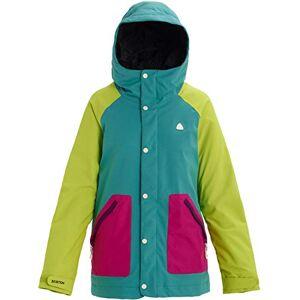 Burton Eastfall Womens Snow Jacket Small Green Blue Slate Tendershoots Fuchsia