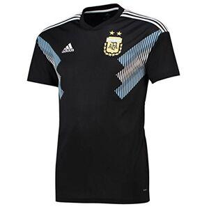adidas Men's Argentina Away Shirt, Men, CD8565, Black/Clblue/White, S