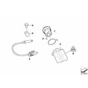 BMW Genuine Steering Lock Ignition Switch 61326901961