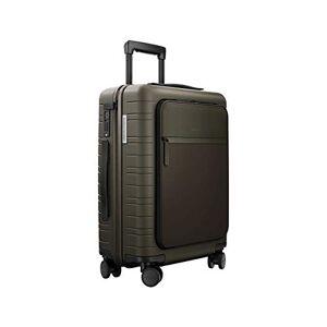 HORIZN STUDIOS M5 Essential Cabin Luggage (33 L). for Trips 2-3 Days. (Dark Olive, S M5 55 cm)