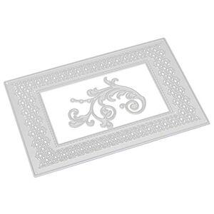 squarex 3D Exquisite Carbon Steel Cutting Dies Stencils Scrapbooking Embossing Cards DIY Crafts (L)