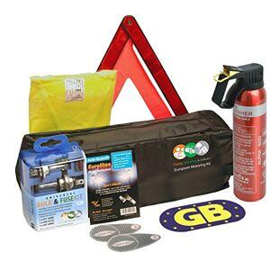 Leisure Euro European Car Travel Kit for Driving in EU Bundle Universal Bulb Kit with H7