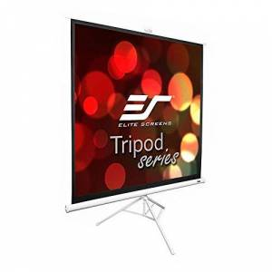 Elitescreens Elite T99NWS1 99 inch Tripod Pull Up Projection Screen