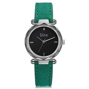 Itvip Orologio ITVIP Women's Brand Quartz Watch Simulation Fashion Trend Simple High Fashion Watch 235.6mm Green