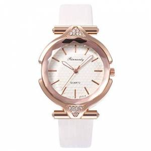 Festiday_watch Womens Watches Sale, Festiday Faux Crystal Student Watch PU Leather Strap Ladies Quartz Watches Gift for Women Girls Kids Daughter Dress Up F05