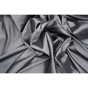 UK Fabrics Online Fabrics Online Uk Silver Grey Shot Black Curtains Silk Taffeta Fabric - Fabric Is Sold By The Meter