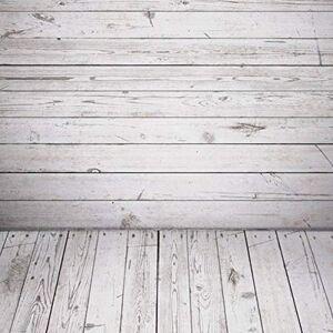 DERCLIVE Vintage Wood Grain Photography Backdrop Newborn Baby Photo Studio Background(K-9882),60cm