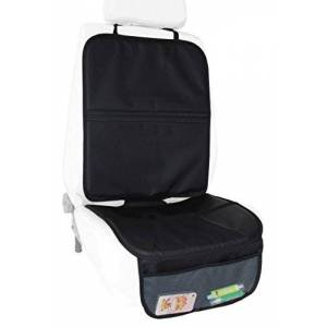 BabyDan Extra Tall Car Seat Protector with Storage Pouches