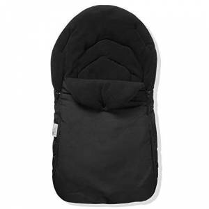 For Your Little One FYLO Car Seat Footmuff/Cosy Toes Compatible with Bebecar Magic Easy Maxi ELX - Black
