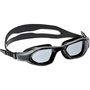 adidas Unisex's Persistar 180 JR Swim Goggle, Smoke Lenses Utility Black