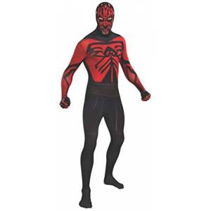 Rubie's Official Star Wars Darth Maul 2nd Skin, Adult Costume - Large