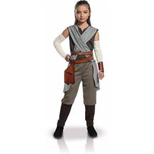 Rubie's Rey Kids Costume, The Last Jedi Star Wars Outfit, Large, Age 8 - 10 years,