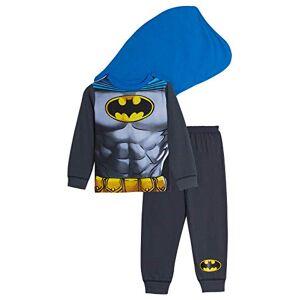 Lora Dora Boys Fancy Dress Up Pyjamas Batman with Cape 2-3 Years
