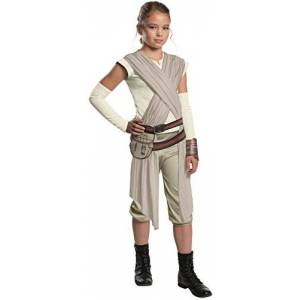 Star Wars The Force Awakens Rey Deluxe Child Costume Small