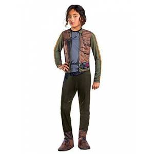 Star Wars Rogue One Costume, Kids Jyn Erso Star Wars Outfit, Large, Age 8 - 10 years, HEIGHT 4 8 - 5' 0""