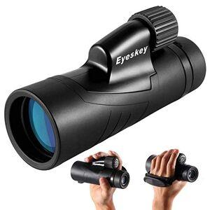 TELESCOPE 10X42 High Performance Hand Strap Monocular Telescope, BAK4 Prism FMC Monocular Rifle Scope, Waterproof Single-hand Focus, For Bird Watching Hunting Camping