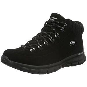 Skechers Women'S Synergy-Winter Nights Boots, Black, 4 Uk