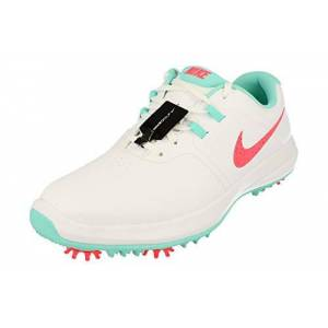 Nike Men'S Air Zoom Victory Golf Shoes, Multicolour (White/hot Punch/aurora Green 102), 7 Uk