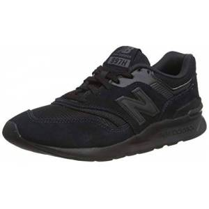 New Balance Men'S 997h Core Trainers, Black (Black/silver Charcoal), 4.5 Uk