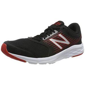 New Balance Men'S 411 Running Shoes, Black (Black/red Black/red), 10 Uk 44.5 Eu