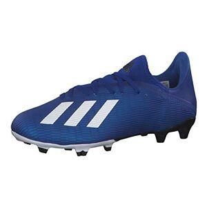 Adidas Men'S X 19.3 Fg 39s Football Sneakers, Blue (Team Royal Blue/ftwr White/core Black), 12 Uk