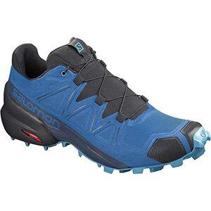 Salomon Men'S Speedcross 5 Trail Running, Indigo Bunting/black/ethereal Blue, 10.5 Uk