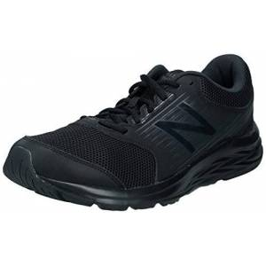 New Balance Men'S 411 M Running Shoes, Black, 9 Uk 43 Eu