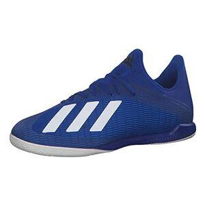 Adidas Men'S X 19.3 39s Football Sneakers, Blue (Team Royal Blue/ftwr White/core Black), 12 Uk