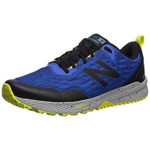 New Balance Men'S Nitrel Trail Running Shoes, Blue (Blue/black Blue/black), 7.5 Uk (41.5 Eu)