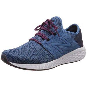 New Balance Men'S Fresh Foam Cruz V2 Silent Rave Pack Running Shoes, Blue (Sea Smoke Sea Smoke), 7 (40.5 Eu)