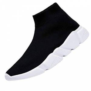 Cakej High Top Socks Sneakers Mens Running Shoes Women Sports Shoes For Male Summer Men'S Sport Shoes Black Trainers Large Size