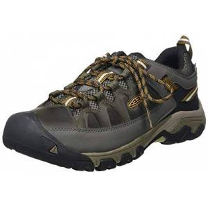 Keen Men'S Targhee Iii Waterproof Low Rise Hiking Shoes, Black (Black Olive/golden Brown 0), 12 Uk 47 Eu