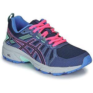 Asics Unisex Kids Gel-Venture 7 Gs Track Shoe, Peacoat Hot Pink, 3 Uk