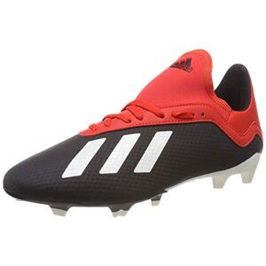 Adidas Boy'S X 18.3 Fg J Footbal Shoes, Black (Core Black/off White/grey Four F17), 5.5 Uk